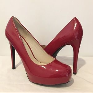 Chinese Laundry Womens Red High Heels Size 9M
